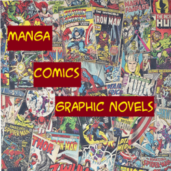 Graphic Novels, Comics, and Manga Lounge